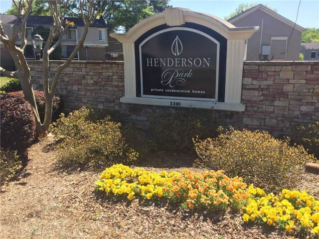 3301 Henderson Mill Road D6, Atlanta, GA 30341 (MLS #6607653) :: The Realty Queen Team