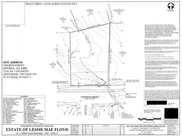 0 Church Street SE, Smyrna, GA 30080 (MLS #6607717) :: MyKB Partners, A Real Estate Knowledge Base
