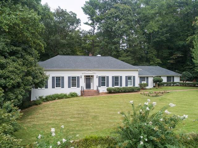 1020 Foxcroft Road NW, Atlanta, GA 30327 (MLS #6607720) :: The Hinsons - Mike Hinson & Harriet Hinson