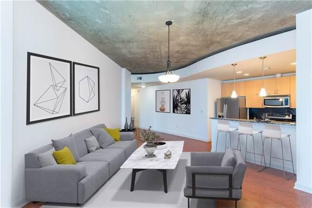 400 W Peachtree Street NW #1116, Atlanta, GA 30308 (MLS #6613161) :: Good Living Real Estate