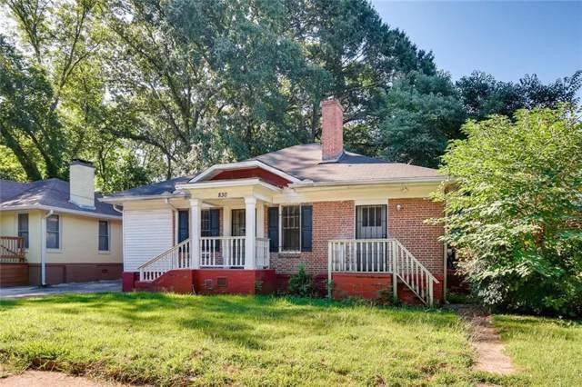 830 Hartford Place SW, Atlanta, GA 30310 (MLS #6613182) :: Kennesaw Life Real Estate