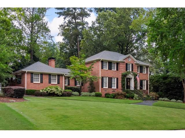 1668 Kings Down Circle, Dunwoody, GA 30338 (MLS #6613627) :: Dillard and Company Realty Group
