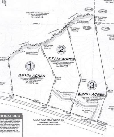 Lot 1 Highway 52 W, Dahlonega, GA 30533 (MLS #6614228) :: The Zac Team @ RE/MAX Metro Atlanta