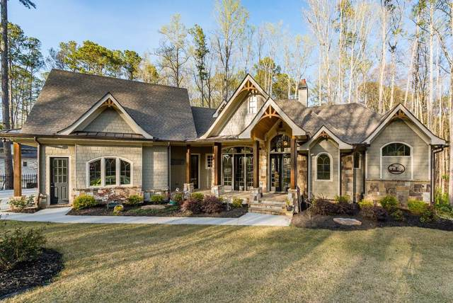 942 Pine Circle, Woodstock, GA 30189 (MLS #6614576) :: The North Georgia Group