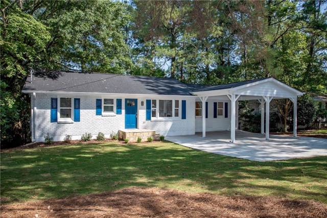 1432 N Druid Hills Road NE, Brookhaven, GA 30319 (MLS #6615120) :: North Atlanta Home Team