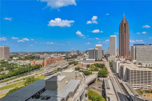 400 W Peachtree Street NW #2213, Atlanta, GA 30308 (MLS #6617205) :: North Atlanta Home Team