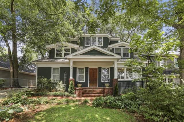 382 Peachtree Avenue NE, Atlanta, GA 30305 (MLS #6617578) :: The Heyl Group at Keller Williams