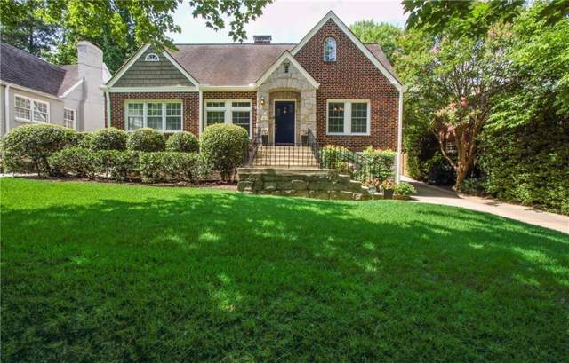 1087 E Rock Springs Road NE, Atlanta, GA 30306 (MLS #6617628) :: Dillard and Company Realty Group
