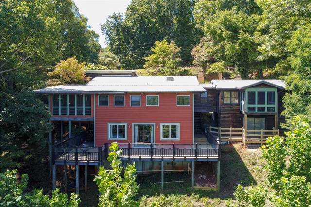 206 Cedar Mountain Road, Dahlonega, GA 30533 (MLS #6617769) :: The Heyl Group at Keller Williams