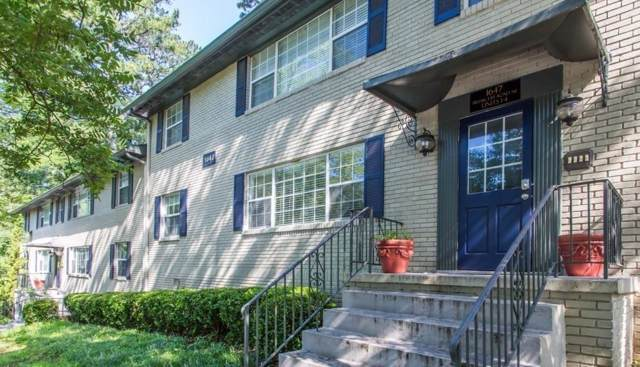 1647 Briarcliff Road NE #2, Atlanta, GA 30306 (MLS #6617994) :: The Zac Team @ RE/MAX Metro Atlanta