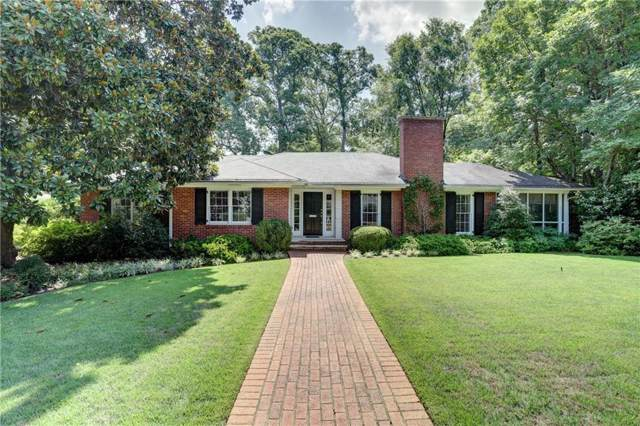 1611 Doncaster Drive NE, Atlanta, GA 30309 (MLS #6618190) :: North Atlanta Home Team