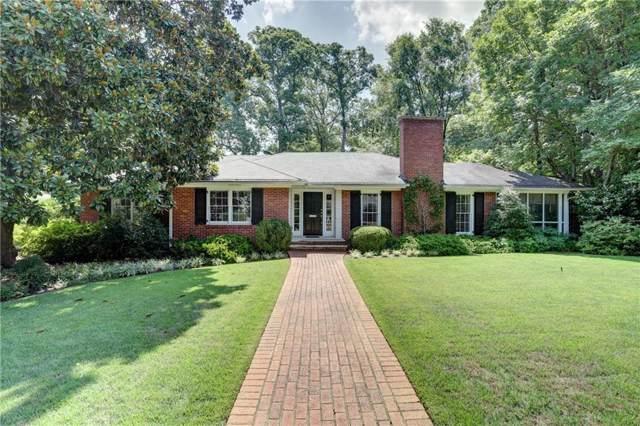 1611 Doncaster Drive NE, Atlanta, GA 30309 (MLS #6618190) :: RE/MAX Prestige