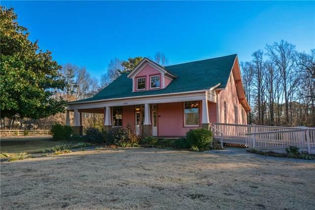 436 Academy Avenue, Dawsonville, GA 30534 (MLS #6618427) :: Path & Post Real Estate