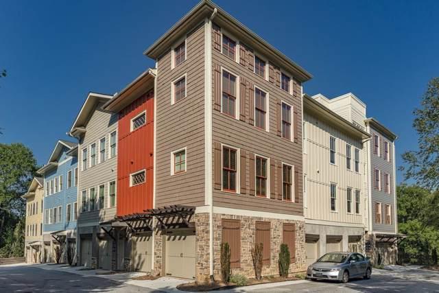 1628 NE Briarcliff Road #17, Atlanta, GA 30306 (MLS #6618800) :: North Atlanta Home Team