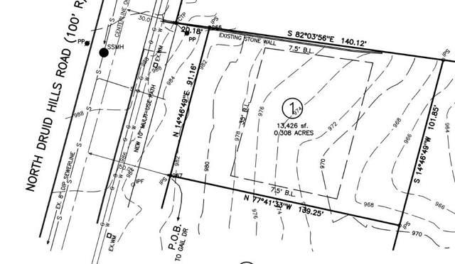 1752 N Druid Hills Road, Brookhaven, GA 30319 (MLS #6618956) :: North Atlanta Home Team