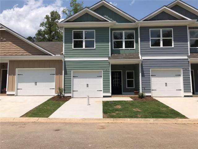 49 Towne Club Drive #41, Jasper, GA 30143 (MLS #6619458) :: Path & Post Real Estate