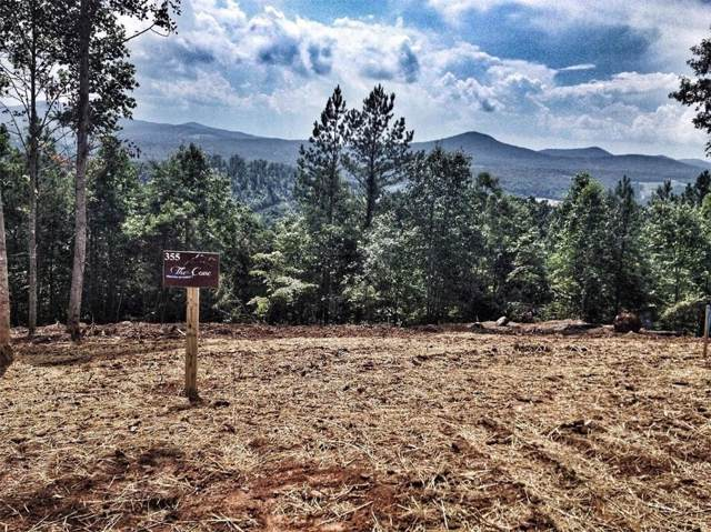 Lot355 The Cove Phase 3 @ 1300, Blairsville, GA 30512 (MLS #6619949) :: North Atlanta Home Team