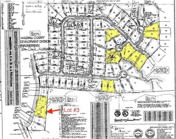 0 Lot3 Birchwood Farms, Dallas, GA 30132 (MLS #6621417) :: The North Georgia Group