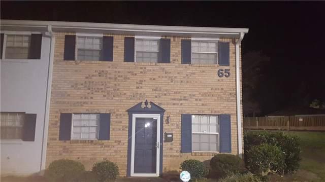 4701 Flat Shoals Road 65F, Union City, GA 30291 (MLS #6628293) :: North Atlanta Home Team