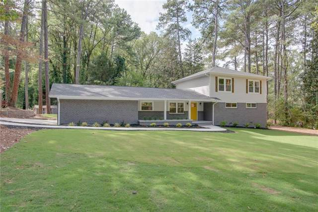 2937 Sylvan Ramble Road NE, Atlanta, GA 30345 (MLS #6628313) :: RE/MAX Paramount Properties