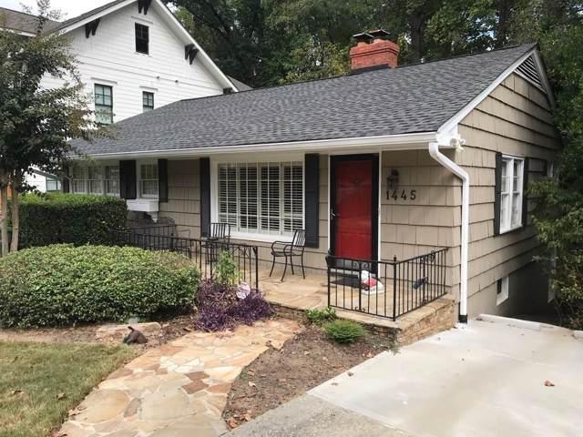 1445 Wessyngton Road NE, Atlanta, GA 30306 (MLS #6629329) :: RE/MAX Prestige