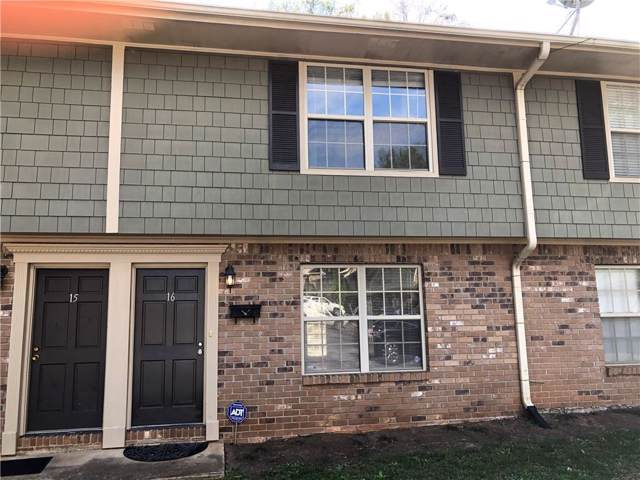 16 Villa Court SE #16, Smyrna, GA 30080 (MLS #6629407) :: Kennesaw Life Real Estate