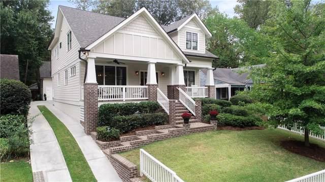 891 Kings Court NE, Atlanta, GA 30306 (MLS #6629824) :: North Atlanta Home Team