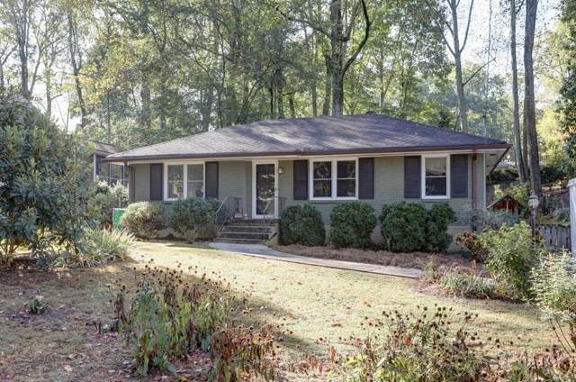 1235 Mayfair Drive NE, Atlanta, GA 30324 (MLS #6630841) :: The North Georgia Group