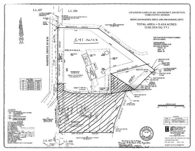 2454 Marneil Drive NE, Marietta, GA 30062 (MLS #6631689) :: The Heyl Group at Keller Williams