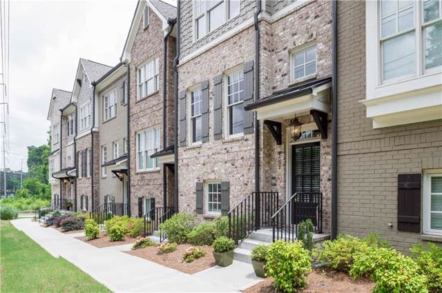4002 Chastain Preserve Way NE #4002, Atlanta, GA 30342 (MLS #6632071) :: Good Living Real Estate