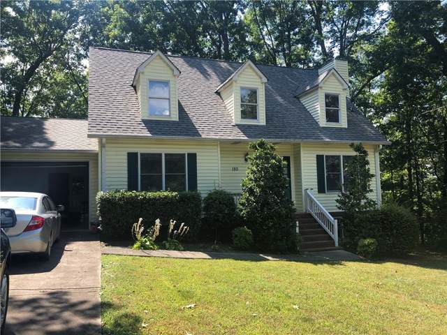 180 Amberidge Drive NW, Cartersville, GA 30121 (MLS #6632258) :: North Atlanta Home Team