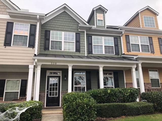 538 Georgia Way, Woodstock, GA 30188 (MLS #6632294) :: Good Living Real Estate