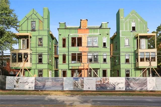 1261 Virginia Avenue NE #4, Atlanta, GA 30306 (MLS #6632306) :: Rock River Realty