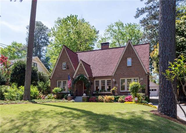 711 E Morningside Drive NE, Atlanta, GA 30324 (MLS #6632632) :: Charlie Ballard Real Estate