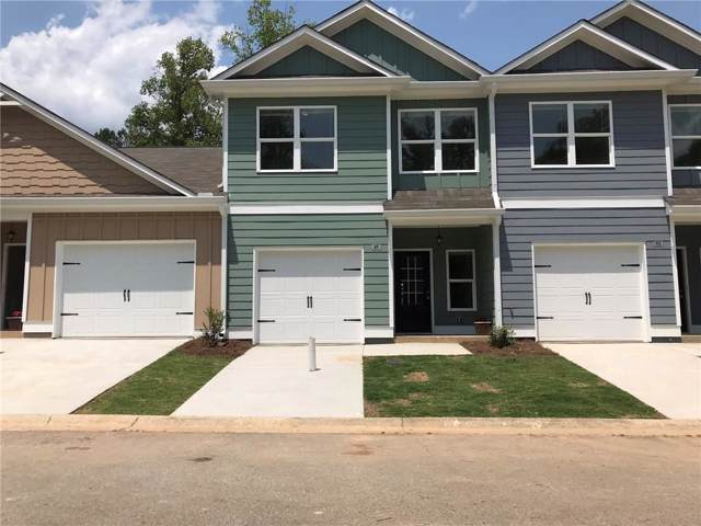 49 Towne Club Drive #41, Jasper, GA 30143 (MLS #6632834) :: North Atlanta Home Team