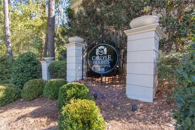 1445 Monroe Drive NE C6, Atlanta, GA 30324 (MLS #6633239) :: North Atlanta Home Team