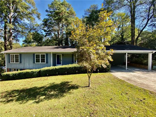 1172 Wilburn Drive SW, Marietta, GA 30064 (MLS #6633863) :: The Heyl Group at Keller Williams