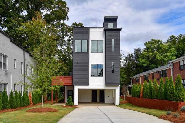1010 Greenwood Avenue NE A, Atlanta, GA 30306 (MLS #6636486) :: The Zac Team @ RE/MAX Metro Atlanta