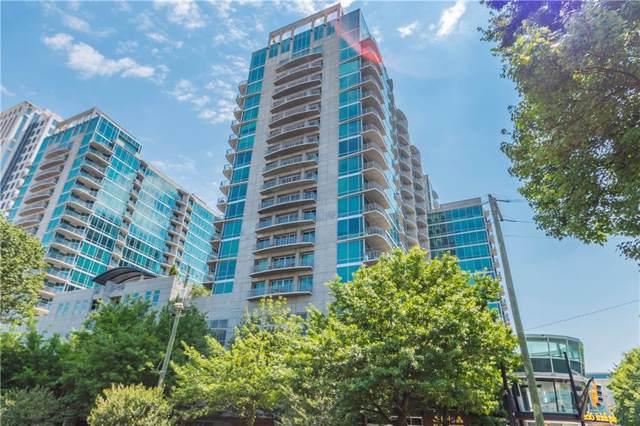 923 Peachtree Street NE #836, Atlanta, GA 30309 (MLS #6637104) :: RE/MAX Prestige
