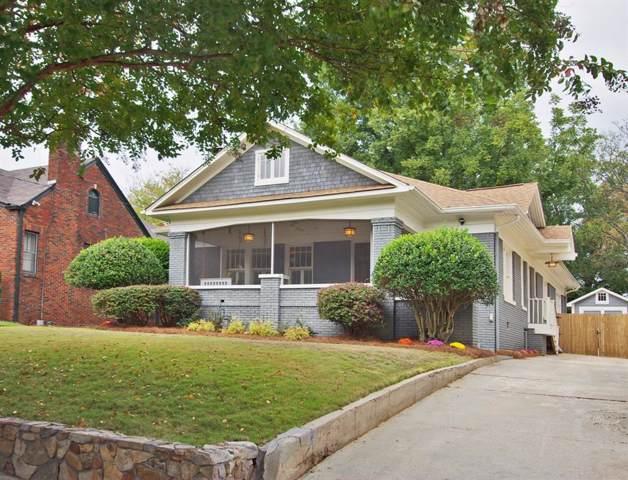 1036 Rosewood Drive NE, Atlanta, GA 30306 (MLS #6638707) :: Dillard and Company Realty Group