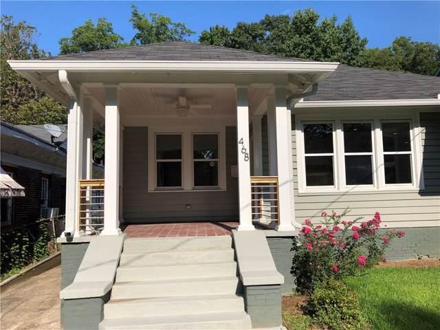 468 W Ontario Avenue SW, Atlanta, GA 30310 (MLS #6639948) :: Charlie Ballard Real Estate
