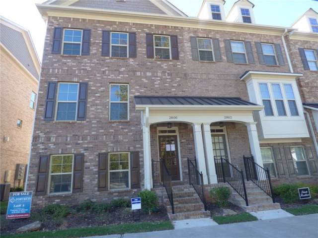 2800 Fuller's Alley, Kennesaw, GA 30144 (MLS #6640618) :: Kennesaw Life Real Estate