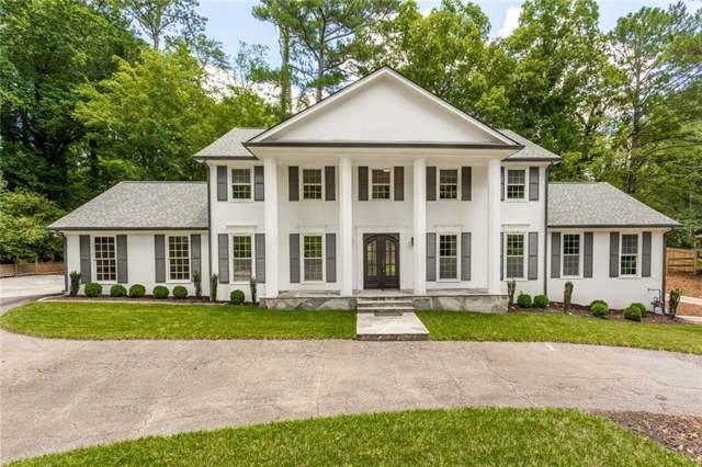 4933 Vernon Oaks Drive, Dunwoody, GA 30338 (MLS #6640965) :: North Atlanta Home Team