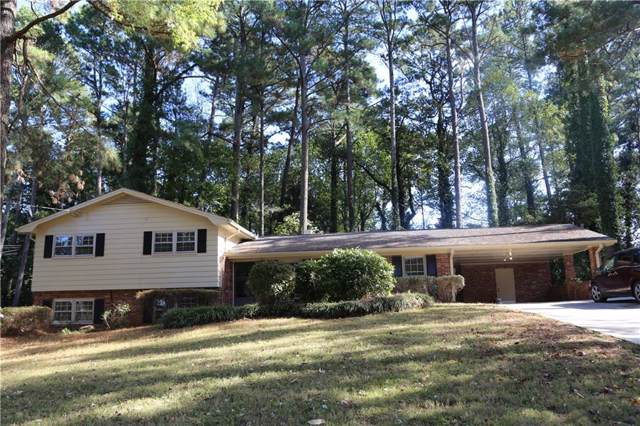 2501 Henderson Mill Road NE, Atlanta, GA 30345 (MLS #6641770) :: The North Georgia Group