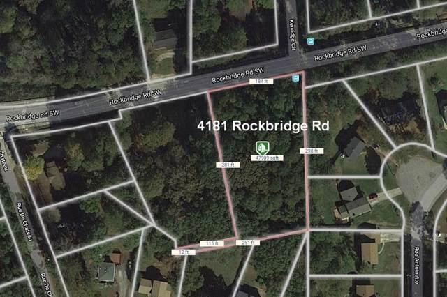 4181 Rockbridge Road, Stone Mountain, GA 30083 (MLS #6642559) :: The Zac Team @ RE/MAX Metro Atlanta