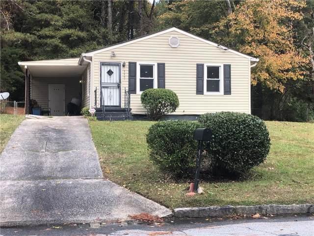 3667 Bunker Hill Drive, Atlanta, GA 30331 (MLS #6642869) :: North Atlanta Home Team