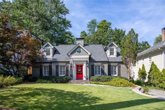 708 E Paces Ferry Road NE, Atlanta, GA 30305 (MLS #6642960) :: Path & Post Real Estate