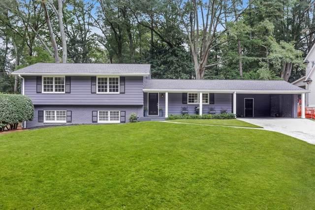 1307 Battleview Drive, Atlanta, GA 30327 (MLS #6643307) :: Charlie Ballard Real Estate