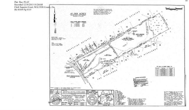 0 Troy Smith Road, Monroe, GA 30656 (MLS #6644494) :: Good Living Real Estate