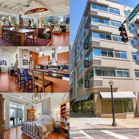 805 Peachtree Street NE #512, Atlanta, GA 30308 (MLS #6644961) :: North Atlanta Home Team